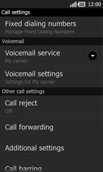LG P940 PRADA phone by LG - Voicemail - Manual configuration - Step 5