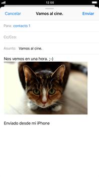 Apple iPhone 8 Plus - E-mail - Escribir y enviar un correo electrónico - Paso 14