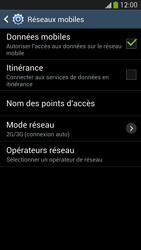 Samsung I9505 Galaxy S IV LTE - Internet - Configuration manuelle - Étape 7