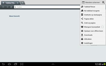 Samsung N8000 Galaxy Note 10-1 - Internet - Handmatig instellen - Stap 18