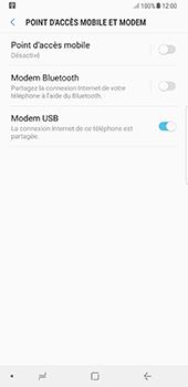 Samsung Galaxy Note 8 - Internet et connexion - Utiliser le mode modem par USB - Étape 9