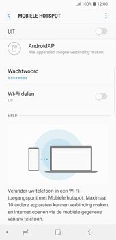 Samsung Galaxy S9 (SM-G960F) - WiFi - Mobiele hotspot instellen - Stap 7