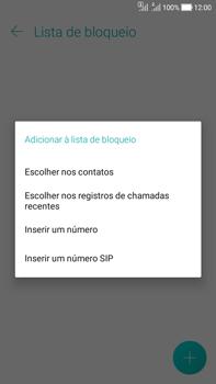 Asus Zenfone Selfie - Chamadas - Como bloquear chamadas de um número específico - Etapa 10