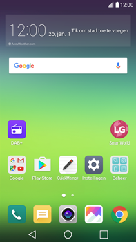 LG Stylus 2 (K520) - Applicaties - Downloaden - Stap 1