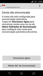Sony Xperia M2 - Email - Adicionar conta de email -  10