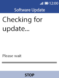 Nokia 8110 Banana - Device - Software update - Step 8