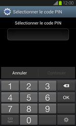 Samsung Galaxy S2 - Sécuriser votre mobile - Activer le code de verrouillage - Étape 7