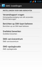 Wiko Rainbow - SMS - Handmatig instellen - Stap 7