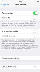 Apple iPhone 6 iOS 8 - Mensajería - Configurar el equipo para mensajes multimedia - Paso 5
