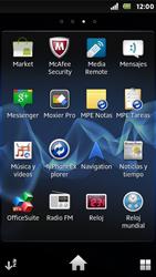 Sony Xperia U - Aplicaciones - Tienda de aplicaciones - Paso 3