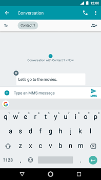 Nokia 6 (2018) - MMS - Sending pictures - Step 8
