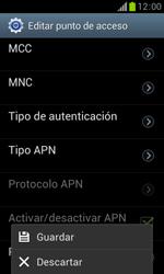 Samsung S7560 Galaxy Trend - Internet - Configurar Internet - Paso 16