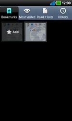 LG P920 Optimus 3D Speed - Internet - Internet browsing - Step 7