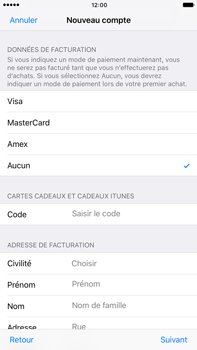 Apple Apple iPhone 6 Plus iOS 10 - Applications - Créer un compte - Étape 19