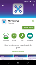 HTC Desire 626 - Applicaties - MyProximus - Stap 8