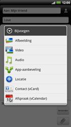 HTC X515m EVO 3D - MMS - afbeeldingen verzenden - Stap 9