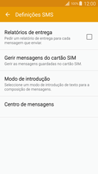 Samsung Galaxy S4 LTE - SMS - Como configurar o centro de mensagens -  7