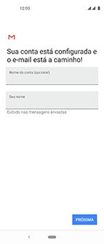 Motorola One Vision - Email - Como configurar seu celular para receber e enviar e-mails - Etapa 11