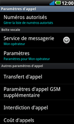 LG P990 Optimus 2X Speed - Messagerie vocale - configuration manuelle - Étape 6