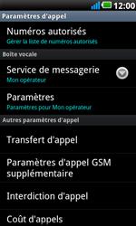 LG P990 Optimus 2X Speed - Messagerie vocale - configuration manuelle - Étape 6