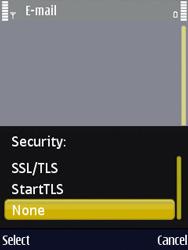 Nokia N86 - E-mail - Manual configuration - Step 15