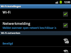 Samsung B5510 Galaxy TXT - Wifi - handmatig instellen - Stap 7