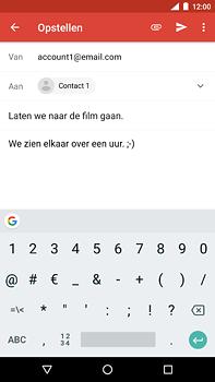 Nokia 6 (2018) - e-mail - hoe te versturen - stap 9