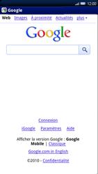 Sony Ericsson Xperia X10 - Internet - navigation sur Internet - Étape 8