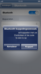 Apple iPhone 5 (iOS 6) - bluetooth - headset, carkit verbinding - stap 6