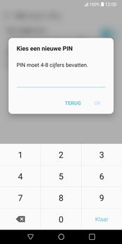 LG V30 (LG-H930) - Beveiliging en ouderlijk toezicht - Hoe wijzig ik mijn SIM PIN-code - Stap 10