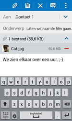 Samsung G388F Galaxy Xcover 3 - E-mail - E-mails verzenden - Stap 18