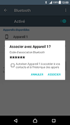 Sony Xperia XA - Android Nougat - Bluetooth - connexion Bluetooth - Étape 9