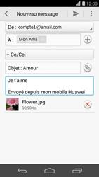 Huawei Ascend P7 - E-mail - envoyer un e-mail - Étape 13