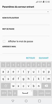 LG V30 - E-mail - Configuration manuelle - Étape 14