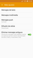 Samsung Galaxy S6 - Mensajería - Configurar el equipo para mensajes de texto - Paso 7