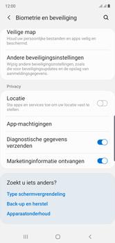 Samsung galaxy-note-10-dual-sim-sm-n970f - Beveiliging en ouderlijk toezicht - Hoe wijzig ik mijn SIM PIN-code - Stap 5