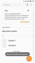 Samsung Xcover 4 - Contactgegevens overzetten - delen via Bluetooth - Stap 10