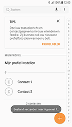 Samsung Galaxy Xcover 4 (SM-G390F) - Contacten en data - Contacten overzetten via Bluetooth - Stap 10