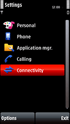 Nokia 5800 Xpress Music - Mms - Manual configuration - Step 4