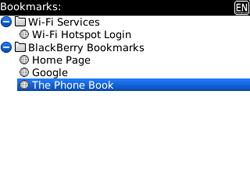 BlackBerry 9300 Curve 3G - Internet - Internet browsing - Step 10