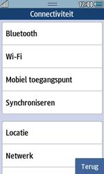 Samsung S7230E Wave TouchWiz - Buitenland - Bellen, sms en internet - Stap 5