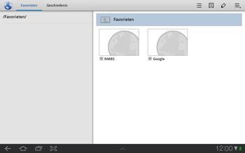 Samsung P7500 Galaxy Tab 10-1 - Internet - Internetten - Stap 12