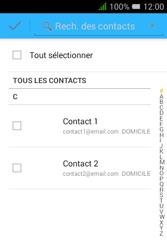 """Alcatel Pixi 3 - 3.5"""" - E-mail - envoyer un e-mail - Étape 5"""