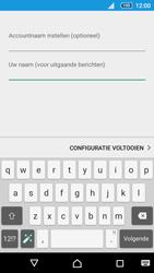 Sony E5823 Xperia Z5 Compact - E-mail - Handmatig instellen - Stap 21