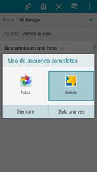 Samsung A500FU Galaxy A5 - E-mail - Escribir y enviar un correo electrónico - Paso 13