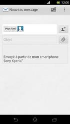 Sony LT30p Xperia T - E-mail - envoyer un e-mail - Étape 7