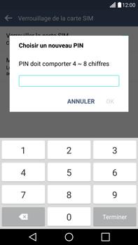 LG G4 - Sécuriser votre mobile - Personnaliser le code PIN de votre carte SIM - Étape 10