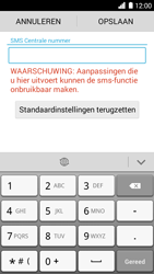 Huawei Ascend G6 - SMS - SMS-centrale instellen - Stap 6