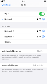 Apple iPhone 7 Plus - iOS 13 - Wi-Fi - Connect to a Wi-Fi network - Step 7