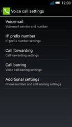 Alcatel OT-5036X Pop C5 - Voicemail - Manual configuration - Step 7